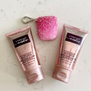 Bath and Body Works A Thousand Wishes bundle